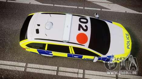 Skoda Octavia Combi vRS 2014 [ELS] Traffic Unit pour GTA 4