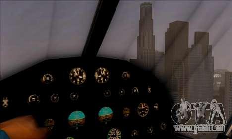 Swift GTA 5 pour GTA San Andreas vue arrière