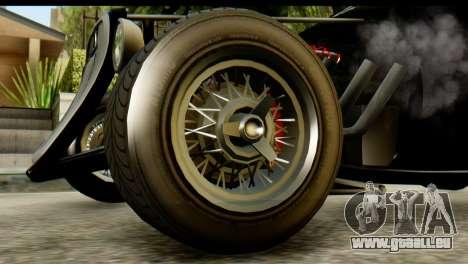 GTA 5 Hotknife IVF für GTA San Andreas zurück linke Ansicht