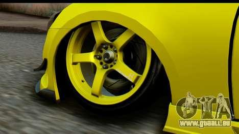 Subaru BRZ 2013 pour GTA San Andreas sur la vue arrière gauche