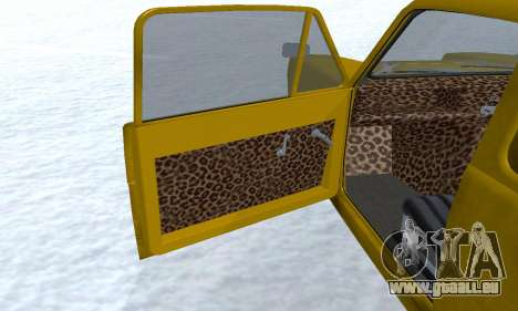 Reliant Supervan Only Fools and Horses pour GTA San Andreas roue