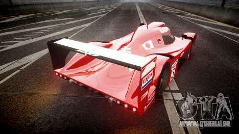 Toyota GT One 1998 für GTA 4 hinten links Ansicht