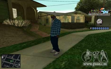 C-HUD SWAG Killerz pour GTA San Andreas cinquième écran