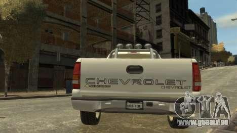 Chevrolet Silverado 1500 pour GTA 4 est un droit