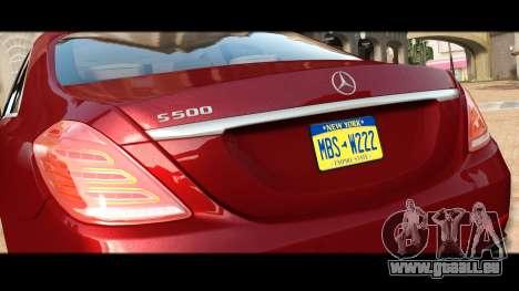 Mercedes-Benz S500 W222 pour GTA 4 est un côté