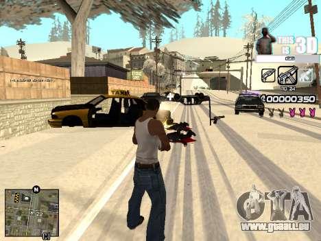 C-HUD 3D pour GTA San Andreas quatrième écran