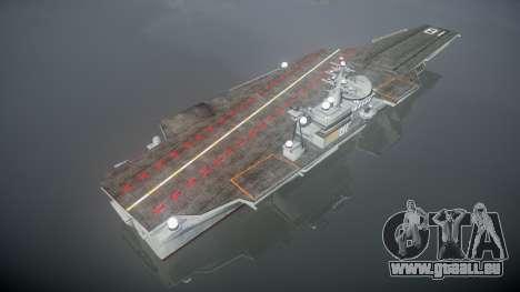 USS Flysenhower pour GTA 4 troisième écran