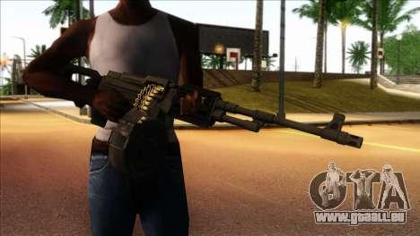 RPK from Kuma War für GTA San Andreas dritten Screenshot