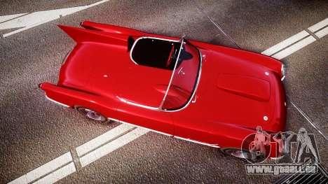 Chevrolet Corvette C1 1953 race für GTA 4 rechte Ansicht