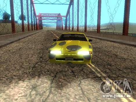 Vinyle Élégie pour GTA San Andreas laissé vue