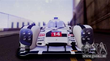 Porsche 919 Hybrid 2014 pour GTA San Andreas