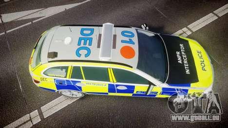 BMW 525d F11 2014 Metropolitan Police [ELS] pour GTA 4 est un droit
