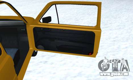 Fiat 126p FL pour GTA San Andreas salon