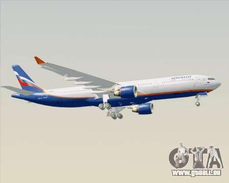 Airbus A330-300 Aeroflot - Russian Airlines für GTA San Andreas Innenansicht