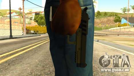 Pistol from GTA 5 für GTA San Andreas dritten Screenshot