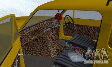 Reliant Supervan Only Fools and Horses pour GTA San Andreas moteur