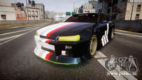 Nissan Skyline R34 GT-R Drift für GTA 4