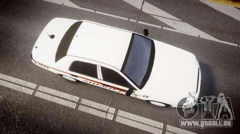 Ford Crown Victoria Sheriff [ELS] rims2 für GTA 4 rechte Ansicht
