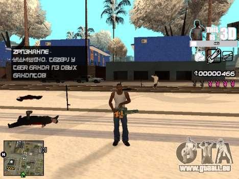 C-HUD 3D pour GTA San Andreas cinquième écran