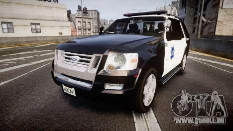Ford Explorer 2008 LCPD [ELS] für GTA 4