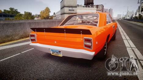 Dodge Dart HEMI Super Stock 1968 rims4 für GTA 4 hinten links Ansicht