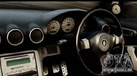 Nissan Silvia S15 Camber Edition pour GTA San Andreas sur la vue arrière gauche