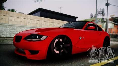 BMW Z4 M85 pour GTA San Andreas
