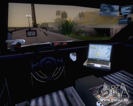 Police LS Metropolitan Police pour GTA San Andreas vue arrière