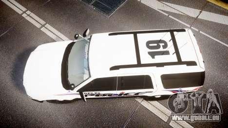 Ford Expedition 2010 Delta Police [ELS] pour GTA 4 est un droit