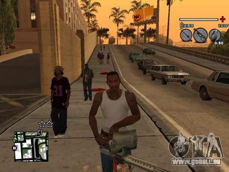 C-HUD Universal v3 pour GTA San Andreas cinquième écran