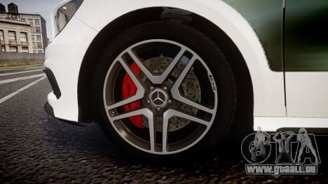 Mersedes-Benz A45 AMG PJs3 pour GTA 4 Vue arrière