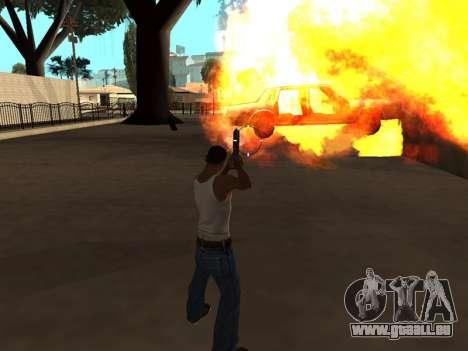 Effects by Lopes 2.2 New pour GTA San Andreas quatrième écran