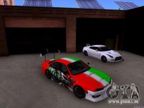 Nissan 200SX Elite Gas pour GTA San Andreas laissé vue