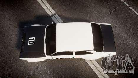 Ford Escort RS1600 PJ10 pour GTA 4 est un droit