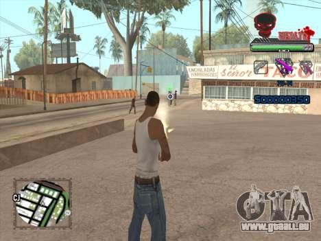 C-HUD by VinC für GTA San Andreas her Screenshot