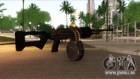 RPK from Kuma War für GTA San Andreas zweiten Screenshot