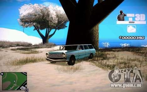 HUD 3D pour GTA San Andreas deuxième écran