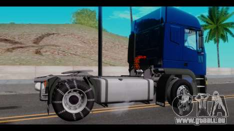 Iveco Eurotech für GTA San Andreas linke Ansicht