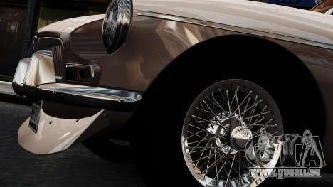 MGB GT 1965 pour GTA 4 Vue arrière