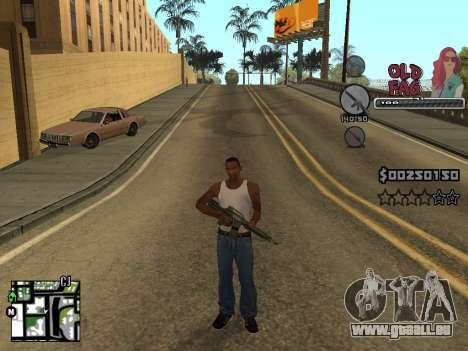 C-HUD Universal v2 pour GTA San Andreas quatrième écran