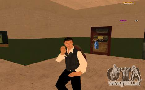 Nouvelle animation par Ozlonshok pour GTA San Andreas