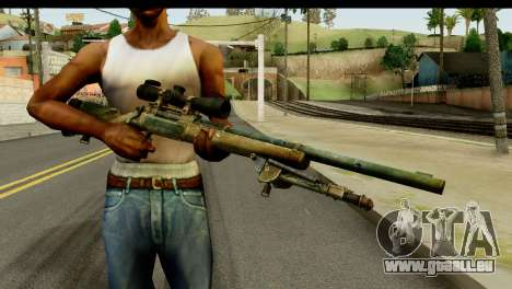 M24 from Sniper Ghost Warrior 2 pour GTA San Andreas troisième écran