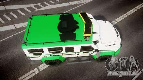 Gruppe6 Van [ELS] pour GTA 4 est un droit