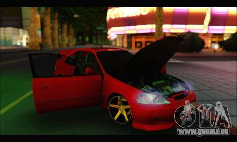Honda Civic Si für GTA San Andreas rechten Ansicht