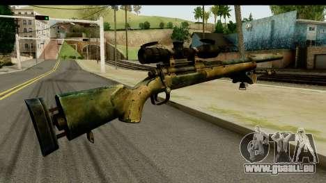 M24 from Sniper Ghost Warrior 2 für GTA San Andreas zweiten Screenshot