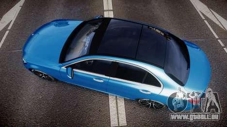 Mercedes-Benz C250 AMG (W205) 2015 pour GTA 4 est un droit