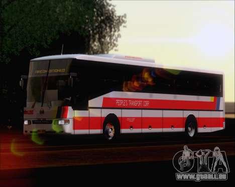 Nissan Diesel UD Peoples Transport Corporation für GTA San Andreas zurück linke Ansicht
