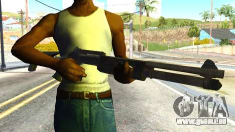 Shotgun from Global Ops: Commando Libya pour GTA San Andreas troisième écran