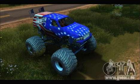 Monster The Liberator (GTA V) pour GTA San Andreas laissé vue