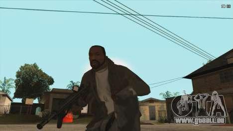 M7A3 pour GTA San Andreas troisième écran